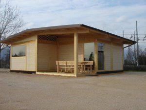 Case prefabbricate e mobili serve il permesso di costruire - Costruire casa in legno costi ...